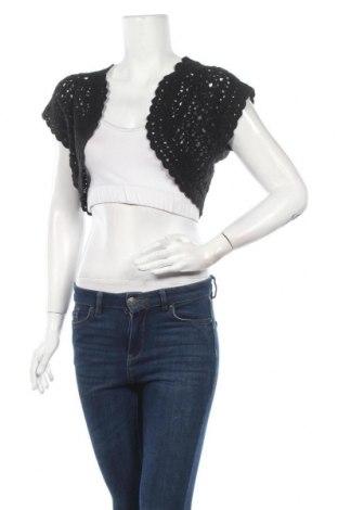 Γυναικεία ζακέτα, Μέγεθος XL, Χρώμα Μαύρο, Βαμβάκι,ακρυλικό, Τιμή 5,91€