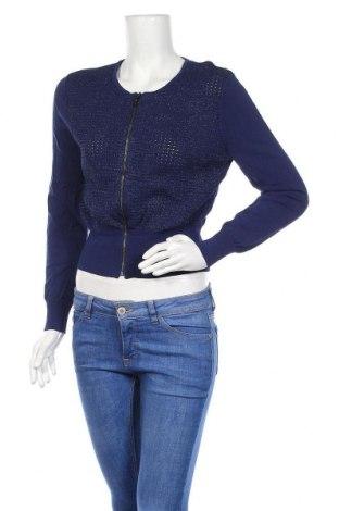 Γυναικεία ζακέτα Alannah Hill, Μέγεθος L, Χρώμα Μπλέ, 60% βισκόζη, 39% πολυαμίδη, μεταλλικά νήματα, Τιμή 17,28€