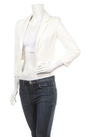 Γυναικεία ζακέτα Ally, Μέγεθος S, Χρώμα Λευκό, 96% πολυεστέρας, 4% ελαστάνη, Τιμή 7,31€