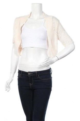 Дамска жилетка Aniston, Размер M, Цвят Екрю, 50% памук, 50% полиакрил, Цена 5,31лв.