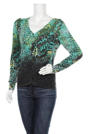 Γυναικεία ζακέτα Anna Scott, Μέγεθος L, Χρώμα Πράσινο, 50% βαμβάκι, 50% μοντάλ, Τιμή 13,25€