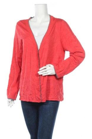 Γυναικεία ζακέτα Bianca, Μέγεθος XL, Χρώμα Κόκκινο, 80% βισκόζη, 20% πολυαμίδη, Τιμή 5,46€