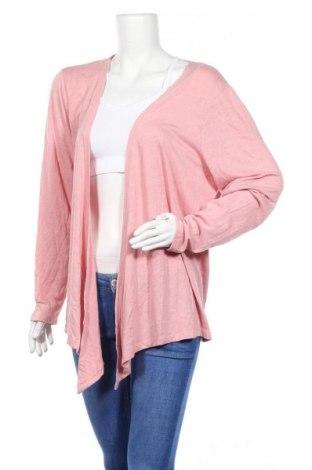 Γυναικεία ζακέτα Clothing & Co, Μέγεθος XXL, Χρώμα Ρόζ , 65% πολυεστέρας, 30% βισκόζη, 5% ελαστάνη, Τιμή 5,91€