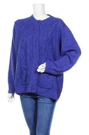 Γυναικεία ζακέτα Damart, Μέγεθος XL, Χρώμα Μπλέ, Ακρυλικό, Τιμή 29,88€