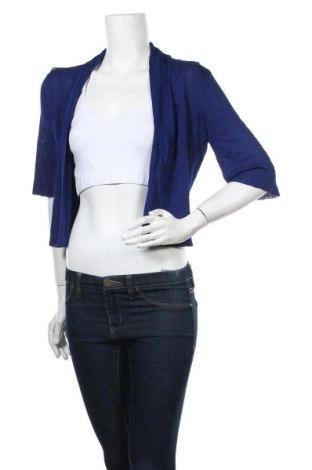 Γυναικεία ζακέτα Diana Ferrari, Μέγεθος M, Χρώμα Μπλέ, 74% βισκόζη, 26% πολυαμίδη, Τιμή 6,17€