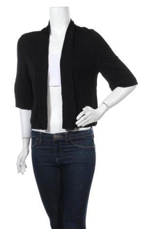 Γυναικεία ζακέτα Diana Ferrari, Μέγεθος XL, Χρώμα Μαύρο, 80% βισκόζη, 20% πολυαμίδη, Τιμή 11,14€