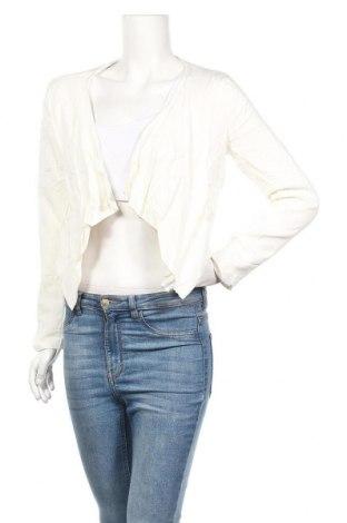 Γυναικεία ζακέτα Jeanswest, Μέγεθος M, Χρώμα Λευκό, Βισκόζη, Τιμή 6,14€