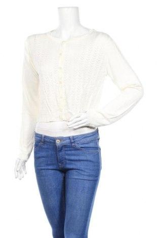 Γυναικεία ζακέτα Krause Senn, Μέγεθος XL, Χρώμα Λευκό, Βισκόζη, Τιμή 5,91€