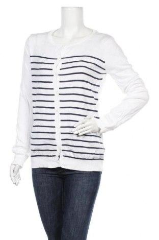 Дамска жилетка La Redoute, Размер L, Цвят Бял, 100% памук, Цена 10,96лв.