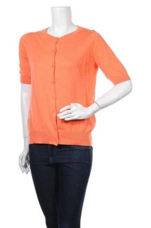 Дамска жилетка Mix, Размер S, Цвят Оранжев, Памук, Цена 5,60лв.