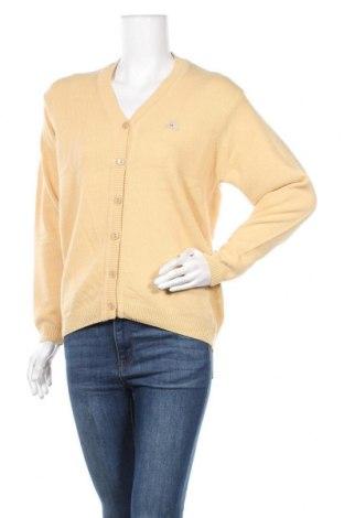 Γυναικεία ζακέτα Monte Carlo, Μέγεθος M, Χρώμα Κίτρινο, Μαλλί, Τιμή 20,98€