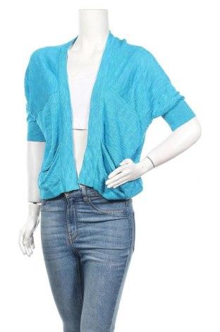 Γυναικεία ζακέτα Rockmans, Μέγεθος M, Χρώμα Μπλέ, 66% βισκόζη, 34%ακρυλικό, Τιμή 5,68€