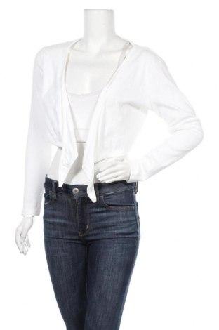 Γυναικεία ζακέτα Street One, Μέγεθος L, Χρώμα Λευκό, Βαμβάκι, Τιμή 4,50€