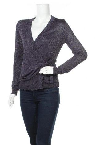 Дамски пуловер Sussan, Размер M, Цвят Син, 65% вискоза, 35% други нишки, Цена 17,33лв.