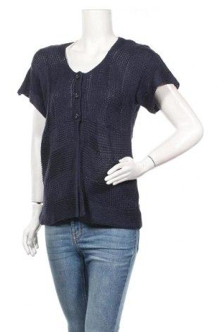 Γυναικεία ζακέτα Suzanne Grae, Μέγεθος M, Χρώμα Μπλέ, Τιμή 1,59€
