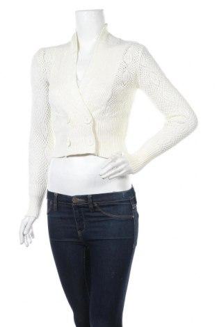 Γυναικεία ζακέτα Valley Girl, Μέγεθος S, Χρώμα Λευκό, 64% βισκόζη, 35% πολυαμίδη, Τιμή 5,46€