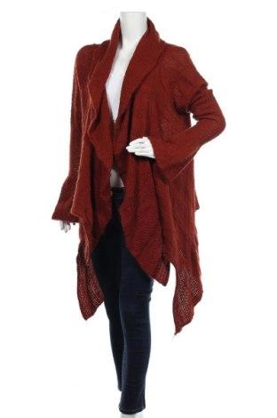 Γυναικεία ζακέτα Vestino, Μέγεθος XL, Χρώμα Κόκκινο, 76% πολυακρυλικό, 12% μοχαίρ, 12% μαλλί, Τιμή 16,37€