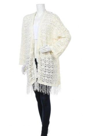 Γυναικεία ζακέτα Yes Or No, Μέγεθος XL, Χρώμα Εκρού, Πολυεστέρας, Τιμή 15,59€