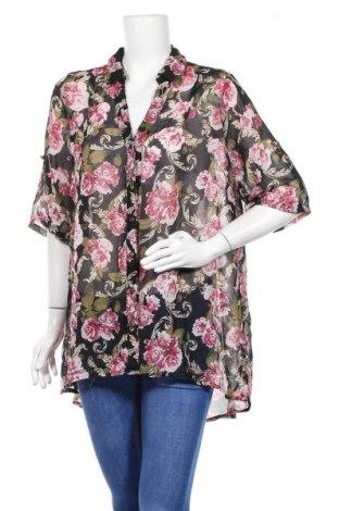 Дамска риза, Размер XL, Цвят Многоцветен, 100% полиестер, Цена 12,60лв.