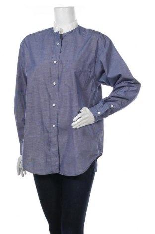 Γυναικείο πουκάμισο Banana Republic, Μέγεθος M, Χρώμα Μπλέ, Βαμβάκι, Τιμή 25,33€