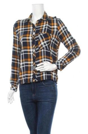 Дамска риза Bershka, Размер S, Цвят Многоцветен, Цена 7,56лв.