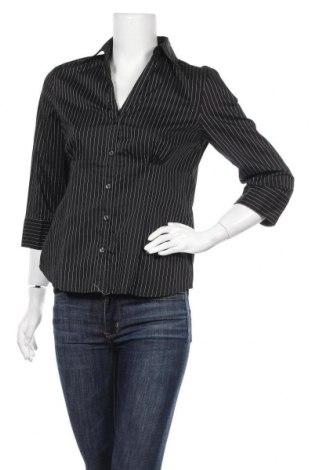 Дамска риза Biaggini, Размер M, Цвят Черен, 76% памук, 20% полиамид, 4% еластан, Цена 4,73лв.