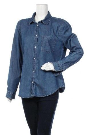 Дамска риза Denim Co, Размер XL, Цвят Син, Памук, Цена 17,96лв.