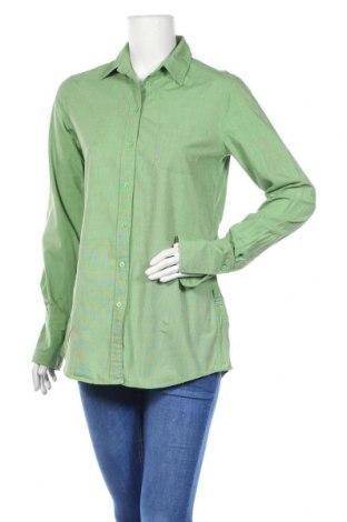 Γυναικείο πουκάμισο Gant, Μέγεθος S, Χρώμα Πράσινο, Βαμβάκι, Τιμή 14,84€