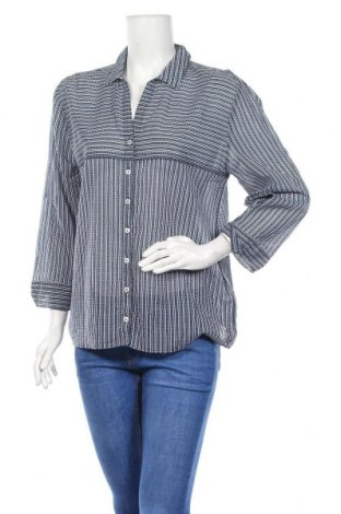 Дамска риза Gerry Weber, Размер M, Цвят Син, Памук, Цена 16,96лв.