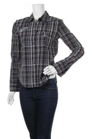 Дамска риза Levi's, Размер M, Цвят Сив, Памук, Цена 17,96лв.
