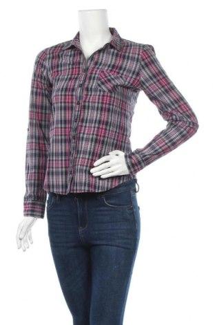Дамска риза Love Fire, Размер S, Цвят Многоцветен, Памук, Цена 4,46лв.