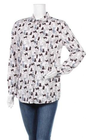 Дамска риза Peter Hahn, Размер L, Цвят Многоцветен, Памук, Цена 28,67лв.
