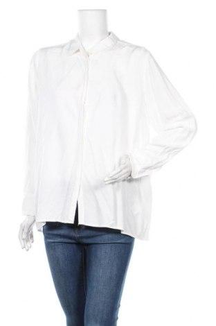 Γυναικείο πουκάμισο Soya Concept, Μέγεθος XL, Χρώμα Λευκό, Βισκόζη, Τιμή 7,40€