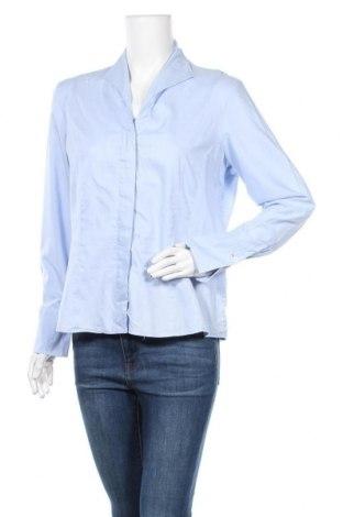 Γυναικείο πουκάμισο Van Laack, Μέγεθος L, Χρώμα Μπλέ, Βαμβάκι, Τιμή 14,84€