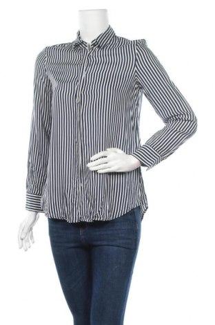 Дамска риза Zara, Размер S, Цвят Бял, Вискоза, Цена 22,05лв.