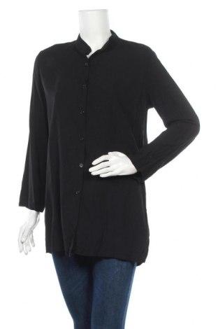 Γυναικείο πουκάμισο Zebra, Μέγεθος M, Χρώμα Μαύρο, Βισκόζη, Τιμή 10,49€