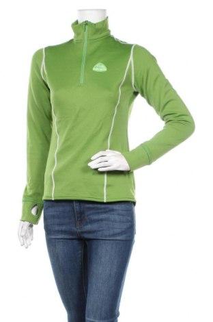 Γυναικεία αθλητική μπλούζα Eider, Μέγεθος M, Χρώμα Πράσινο, 96% πολυεστέρας, 4% ελαστάνη, Τιμή 18,19€