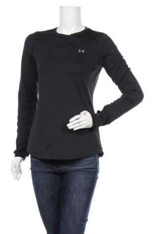 Γυναικεία αθλητική μπλούζα Under Armour, Μέγεθος M, Χρώμα Μαύρο, 87% πολυεστέρας, 13% ελαστάνη, Τιμή 20,36€