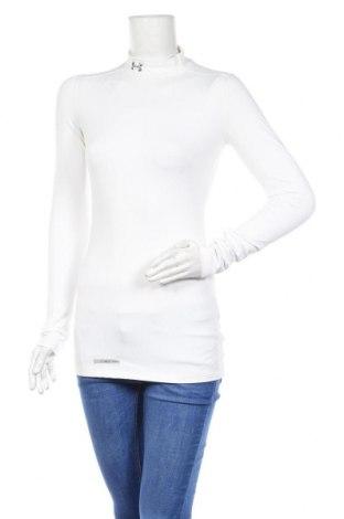 Γυναικεία αθλητική μπλούζα Under Armour, Μέγεθος S, Χρώμα Λευκό, 87% πολυεστέρας, 13% ελαστάνη, Τιμή 17,90€