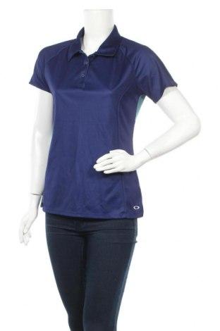 Дамска тениска Oakley, Размер L, Цвят Син, Полиестер, Цена 24,00лв.