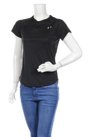 Γυναικείο t-shirt Under Armour, Μέγεθος S, Χρώμα Μαύρο, Πολυεστέρας, Τιμή 26,68€