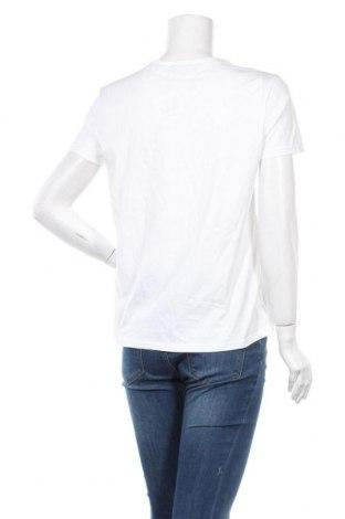 Дамска тениска Zara, Размер M, Цвят Бял, Памук, Цена 19,00лв.