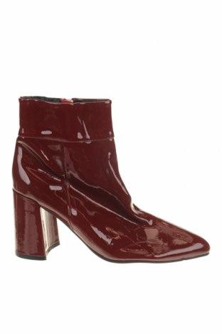 Дамски боти Jo Mercer, Размер 40, Цвят Червен, Естествена кожа, Цена 81,90лв.