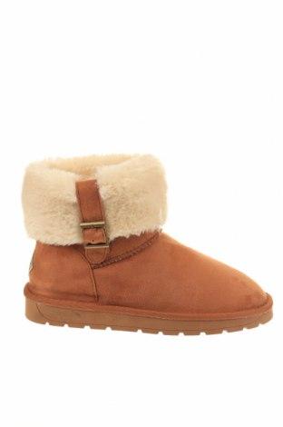 Γυναικείες μπότες Island Boot, Μέγεθος 37, Χρώμα Καφέ, Κλωστοϋφαντουργικά προϊόντα, Τιμή 65,33€