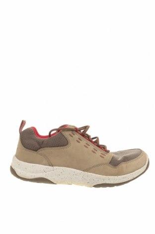 Дамски обувки L.L. Bean, Размер 41, Цвят Бежов, Естествена кожа, текстил, Цена 23,68лв.