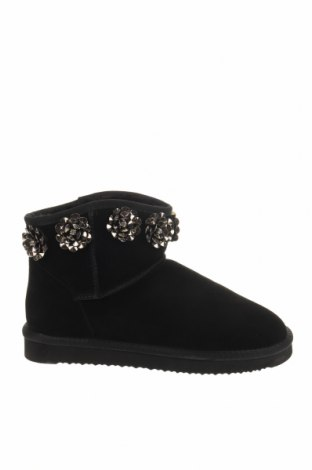Γυναικείες μπότες Molly Bracken, Μέγεθος 41, Χρώμα Μαύρο, Φυσικό σουέτ, Τιμή 22,95€
