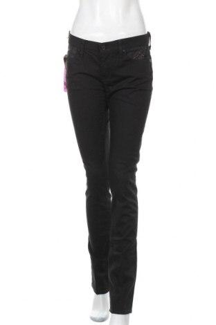 Дамски дънки 7 For All Mankind, Размер M, Цвят Черен, 98% памук, 2% еластан, Цена 159,60лв.