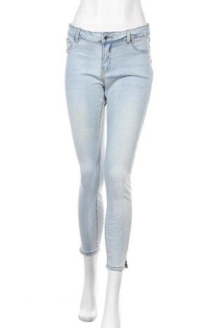 Дамски дънки Denim Co, Размер L, Цвят Син, 98% памук, 2% еластан, Цена 23,10лв.