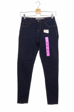 Дамски дънки Denim Co, Размер XS, Цвят Син, 56% памук, 25% вискоза, 18% полиестер, 1% еластан, Цена 48,30лв.