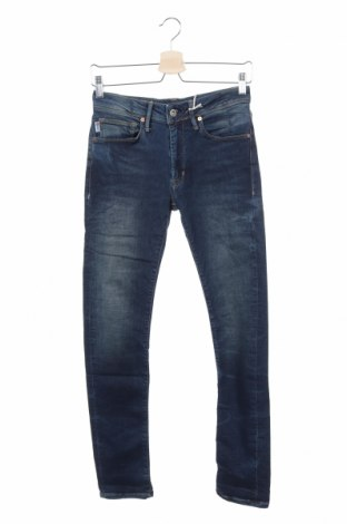 Мъжки дънки Franklin & Marshall, Размер S, Цвят Син, 98% памук, 2% еластан, Цена 51,75лв.